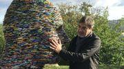 """""""Le Gardien"""", une des oeuvres exposées par Alfredo Longo à Namur jusqu'au 20 octobre, dans le cadre du festival international Nature Namur."""