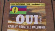 """Une affiche du FLNKS en faveur du """"oui"""" à l'indépendance"""