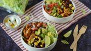 Recette : salade bowl à la mexicaine