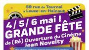 Bonne nouvelle pour les Leuzois, le cinéma Novelty rouvre ce week-end des 4, 5 et 6 mai 2018