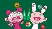 Offrez-vous les motifs de Takashi Murakami pour le prix d'une bouteille d'eau gazeuse