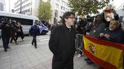 Le consulat belge à Barcelone vandalisé à cause de la présence de Puigdemont en Belgique