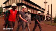 Visite de l'usine de Mbambou