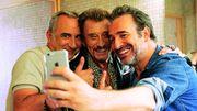 """Première image de """"Chacun sa vie"""" de Claude Lelouch avec Jean Dujardin et Johnny Hallyday"""