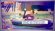 Raphaël craint l'eau mais pas les super-héros