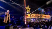 """Loïc Nottet chante pour la première fois sur scène son single sorti le jour-même """"Go to Sleep""""."""