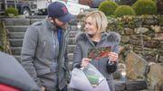 Ophélie Fontana et Dan Gagnon seront chargés de ramener des produits de la région pour le festin de Noël !