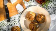 Recette : muffins sans gluten aux saveurs du sud