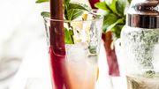 Recette de Candice : Cocktail d'été rhum-rhubarbe