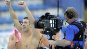 Swimming Phelps 2008