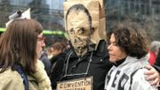 La manifestation contre Theo Francken