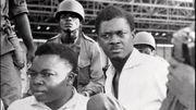 Patrice Lumumba au moment de son arrestation