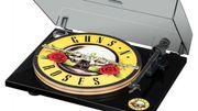 Un tourne-disque Guns N' Roses