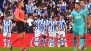 Le Barça perd des plumes à la Real Sociedad, Januzaj joue une demi-heure