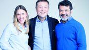 Alice Debatis, Olivier Hanrion et Sandro Calderon