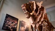 Le lion mécanique de Léonard de Vinci exposé à Paris