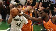 NBA: Milwaukee arrache un match étouffant et revient à 2-2