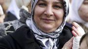 Une femme portant le hijab à Gand.