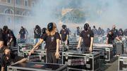 1000 travailleurs du monde du spectacle se font bruyamment remarquer à Rome