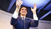 Thierry Baudet lors d'une soirée électorale à Amsterdam le 15 mai 2017.