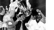 Basile Boli et Raymond Goethals vainqueurs de la Ligue des Champions