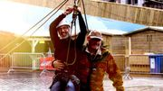 Le défi vertigineux des visiteurs de la Grand Place de Tournai