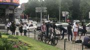 Le boulevard d'Avroy a été partiellement rouvert à la circulation en début d'après-midi.