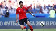 Le Sud-Coréen Heung-Min Son (Tottenham) joue sa carrière aux Jeux Asiatiques