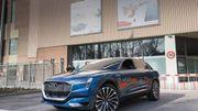Au lieu de l'Audi A1, c'est la nouvelle E-Tron qui sortira bientôt de l'usine de Forest.