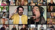 "Dave Grohl reprend ""Times Like These"" avec d'autres artistes en confinement"