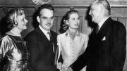 Margaret Kelly, Rainier III de Monaco, Grace Kelly, John Kelly, en 1956