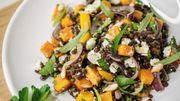 Salade de lentilles et de pois chiche: la recette de Leslie