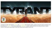 """FX déroule le tapis rouge pour """"Tyrant"""""""