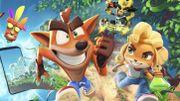 Crash Bandicoot s'offre une nouvelle aventure sur mobile, par les créateurs de Candy Crush