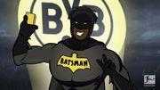 """La Bundesliga réserve un accueil très animé au """"Batsman"""" du Borussia Dortmund"""