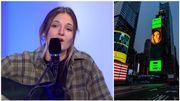 Doria D, à l'affiche de Times Square, joue en acoustique les deux titres qui l'ont propulsée au sommet