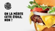 Un Burger King belge demande une étoile au Michellin
