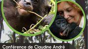 A la rencontre des bonobos, avec Claudine André