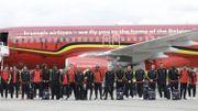 Les Diables rouges prennent la pose avant le départ en Russie