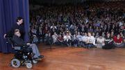 Stephen Hawking à la KUL de Louvain le 25/10/2011