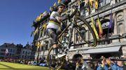 Peter Sagan fait le show à la présentation des coureurs du Tour des Flandres