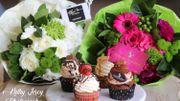 """Bouquet de fleurs et Cupcakes pour une """"Fête des Mères"""" solidaire"""