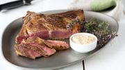 Recette : côte de bœuf au gril, sauce au cidre crémée