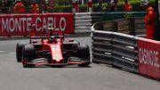Leclerc le plus rapide des EL3 à Monaco, Vettel dans le rail
