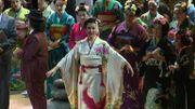 Madame Butterfly et les choristes sublimées par les kimonos faits main