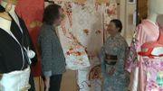 Fernand Ruiz, chef costumier, et Mysaya Iodice-Fujie, consultante