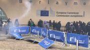 5500 manifestants contre le pacte de Marrakech: incidents devant la Commission européenne