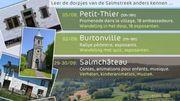 Partez à la découverte des villages insolites dans l'entité de Vielsalm !