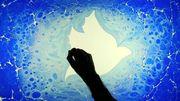 """""""L'ebru"""", l'art qui consiste à peindre sur l'eau"""