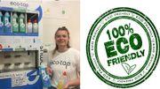 Les premiers distributeurs de savons liquides 100% locaux font leur apparition chez nous
